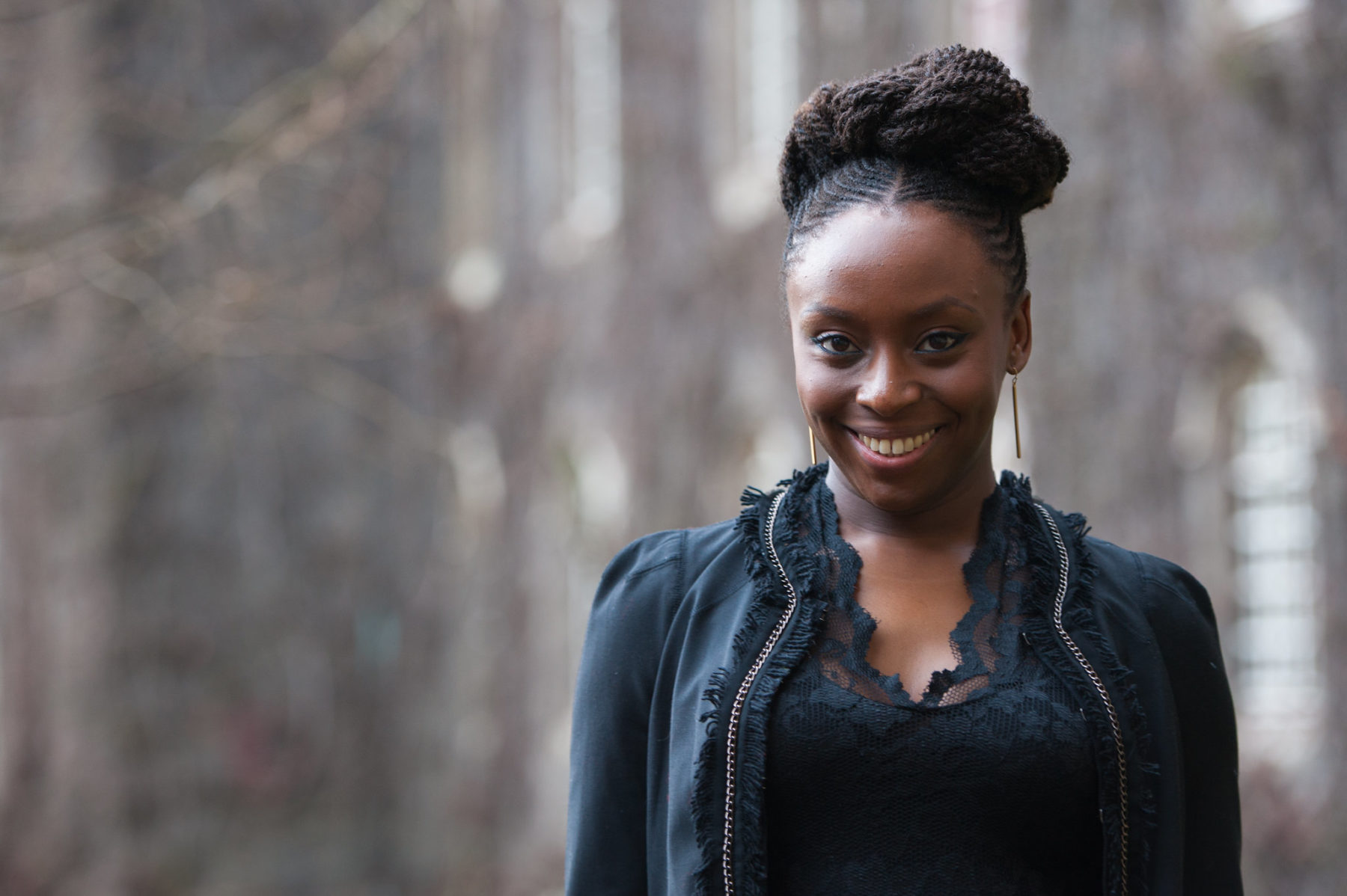 Photo portrait of Chimamanda Ngozi Adichie